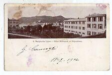 C002599   santa  margherita  ligure   hotel  metropole  et  dependance  vg  1902