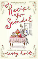 Debby Holt Recipe for Scandal Very Good Book