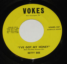 "Betty Bee 7"" 45 HEAR COUNTRY BOPPER I've Got My Honey VOKES Judge of Hearts"