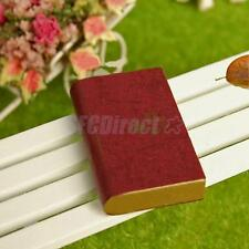 1:12 scale DOLLHOUSE MINIATURE BOOK FOR DOLL LIBRARY STUDY ROOM 4x 2.5x 0.7cm