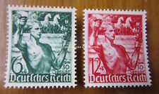 EBS Germany 1938 5th Anniversary Hitler Coming To Power Michel 660-661 MNG