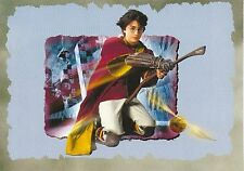 ؍Postcard Harry Potter & the Chamber of Secrets Harry Flying on Broomstick 2002