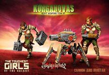 Raging Heroes The Kurganova Shock Troops Heavy Weapons Team #01