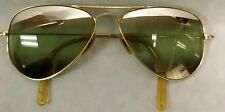 VTG 1940s Bausch & Lomb Ray-Ban Aviator Sunglasses 12K Gold Filled – Nice