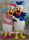 【SALE】 NEW DONALD and DAISY DUCK MASCOT COSTUME ADULT SIZE HALLOWEEN DRESS