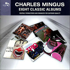 Charles Mingus EIGHT (8) CLASSIC ALBUMS Pithecanthropus Erectus CLOWN New 4 CD