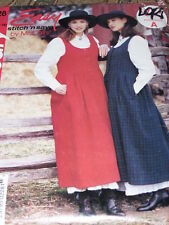 McCALL'S #P228 - LADIES PRETTY COUNTRY STYLE JUMPER & PETTICOAT PATTERN 10-16 FF