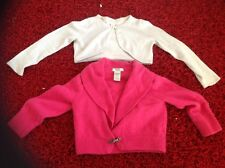 2 party sparly cardigans age 5.6 monsoon  cashmere gap