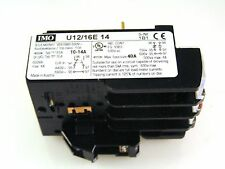 IMO U12/16E 14 Thermal Overload Relay Single Phase Protection 10-14A MBJ1-06