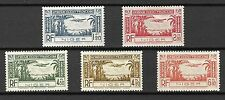Niger Sc#C1-5 LH 1940 Airplane in Sky Airmail Issue