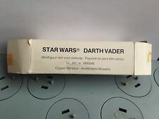 Vintage star wars figure * darth vader * clipper mail away boxed * kenner