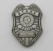 Resident Evil Biohazard s.t.a.r.s. Stars Raccoon Police Dep Badge Money Clip
