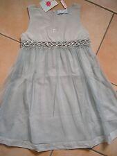 (H228) Miss Blumarine Girls Kleid ohne Arm mit Pailletten & Strass Besatz gr.116