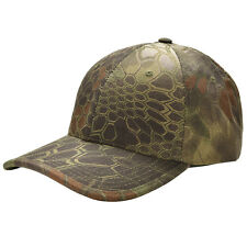 Men Camouflage Military Adjustable Hat Camo Hunting Fishing Army Baseball Cap EF