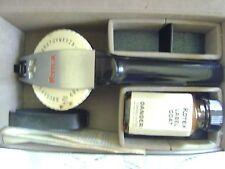 """Vintage Avery Rotex Super 68 Label Maker Case Label Coat Instructions 3/4"""" Label"""
