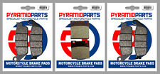 Suzuki GSF600 (Naked Bandit) 95-99 Full Set Front & Rear Brake Pads (3 Pairs)