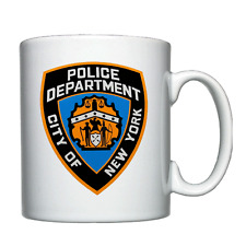 NYPD - New York Police Department - Personalised Mug / Cup