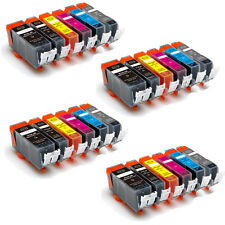24 PK Ink Cartridges with GRAY + Chip for Canon PGI-225 CLI-226 MG6120 MG6220
