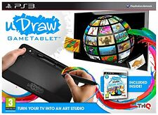 Playstation 3 uDraw GameTablet Tablet inkl. Spiel u-Draw Instant Artist PS3 Neu