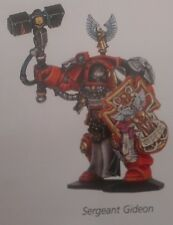 Space Hulk Terminator Sergeant Gideon 40K, Games Workshop