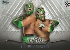 The Lucha Dragons WWE Undisputed Tag Teams 2016 Trading Card #UTT-22 Kalisto