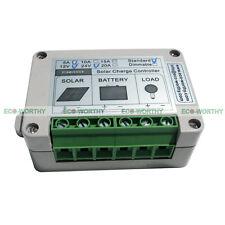 5A 12V/24V PWM Battery Controller Regulator W/ Light Senor for Solar Light