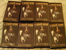 THE DE NEMETHY METHOD, 8 VHS VIDEO SET, MINT COND. BERTALAN DENEMETHY Equestrian
