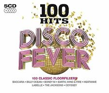 Various - 100 Hits Disco Fever (2014)  5CD Box Set  NEW/SEALED  SPEEDYPOST