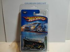 2005 Hot Wheels Treasure Hunt #133 Black Customized Volkswagen Drag Bus
