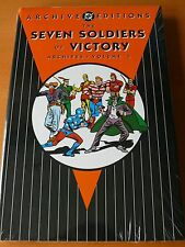 "DC Archive Editions "" Seven Soldiers of Victory "" Vol 3   Mint"