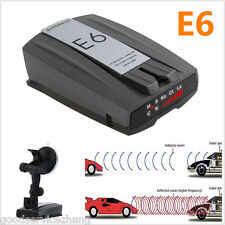 E6 360° Car Cobra Speed Laser Police Dog Radar Detector GPS Voice Alert Safety