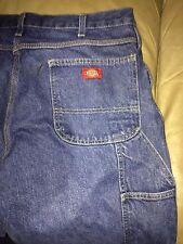 """Men's Dickies carpenter jeans  36"""" x 34""""  1 button zipper fly"""