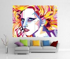 LADY GAGA POP ART Giant Wall Art PROFUMO nati in questo modo ARTPOP STAMPA POSTER H61