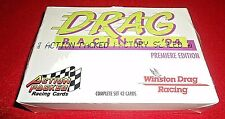 1994 ACTION PACKED DRAG RACING '94 F/S 42-CARD SET WINSTON DRAG RACING