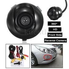 360° CCD HD Auto Car Front Side Reverse Camera Kits Rear View Parking Color Cam