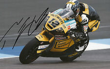Thomas Luthi Hand Signed Interwetten Paddock Suter 12x8 Photo 2014 Moto2 5.