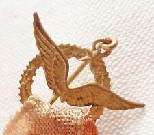 Insigne épinglette BREVET DE PILOTE ORIGINAL Armée de l'Air MINI PILOT WING FR 3
