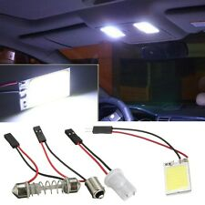 Panel T10 Festoon BA9S 18 LED COB Luz COCHE Interior Adapter Light Blanco DC 12V