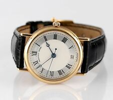 Breguet Automatic Ref #3980 18k Yellow Gold Wristwatch