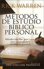 Metodos de Estudio Biblico Personal : 12 Formas de Estudiar la Biblia Tu Solo...
