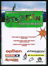 Steezin' For No Reason, BRAND NEW FACTORY SEALED DVD (2003, Lucky Video Seven)
