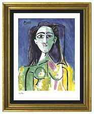 "Pablo Picasso Signed & Hand-Numbered Ltd Edition ""Jacqueline""  Litho Print"