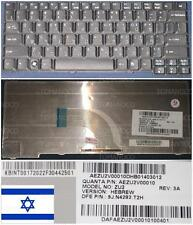 Clavier Qwerty Hébreu / Hebrew ACER TM6292 ZU2 KB.INT00.172 9J.N4282.T2H Noir