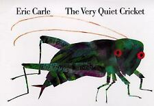 The Very Quiet Cricket Scholastic Board Book Eric Carle Wonderful book EXCELLENT