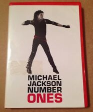 Michael Jackson - Number Ones 15 Trk Very Rare Australian Edition Dvd Thriller.