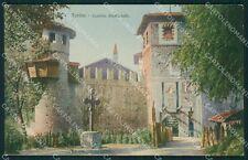 Torino Città Castello Medioevale cartolina XB2643