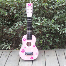 New 21 Inch Pink Childrens Acoustic Guitar Music Ideal kids gift
