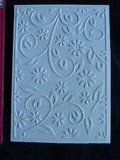 Crafts-TOO/CTFD 3054/C6/carpeta de grabación en relieve// Floral De Verano/Flor Florecer