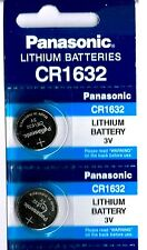 2 Panasonic CR1632 ECR1632 1632 BR1632 DL1632 ECR1632 Battery New Expire 2020