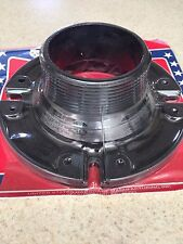 """RV - Motorhome / Toilet Closet Flange - 4"""" x 3"""" MPT x 2  1/2"""" Overall Height"""